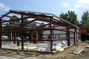 steel-building-frame