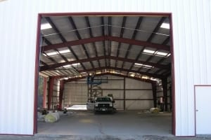 steel-garage-building